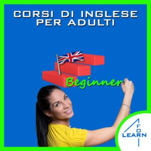 Corsi di inglese per adulti - Livello base