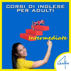 Corsi di inglese per adulti liv. intermedio